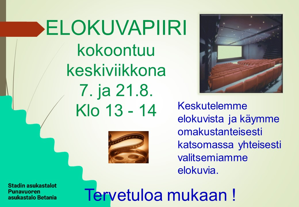 Link to event Elokuvapiiri Punavuoren asukastalo Betaniassa