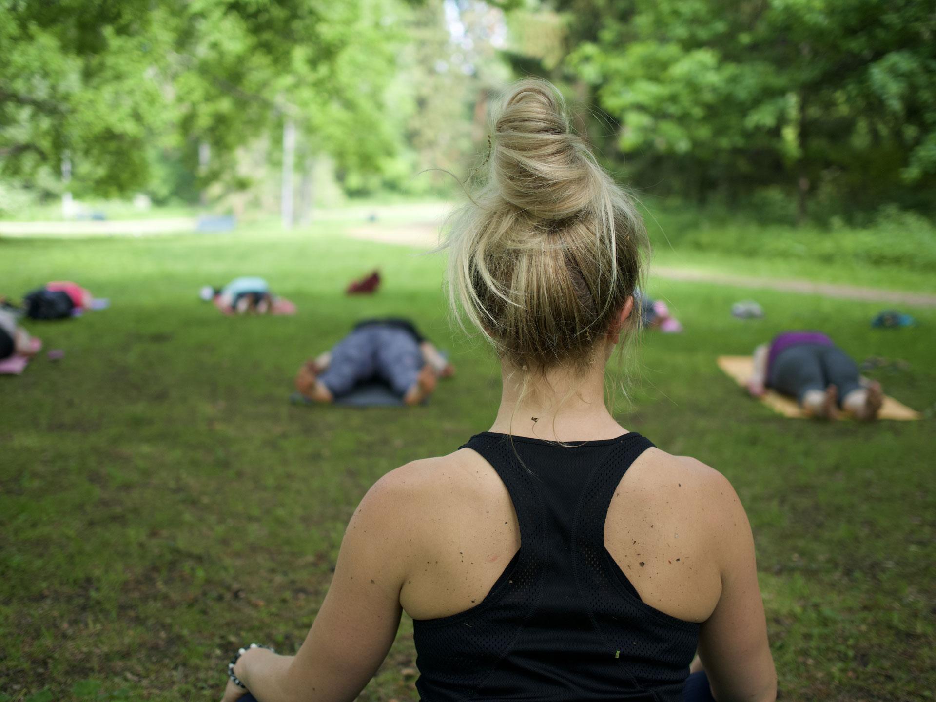 Link to event Yoga Morning in Seurasaari