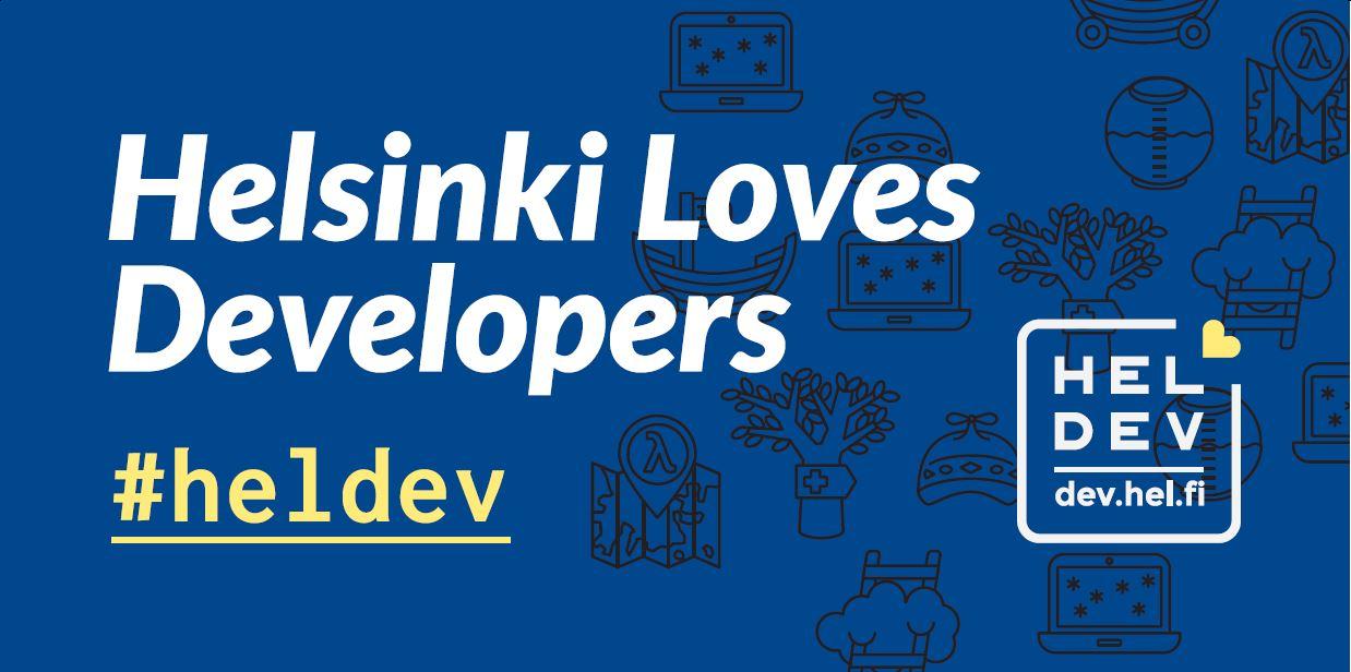 Linkki tapahtumaan HelLovesDev: MyHelsinki Open API