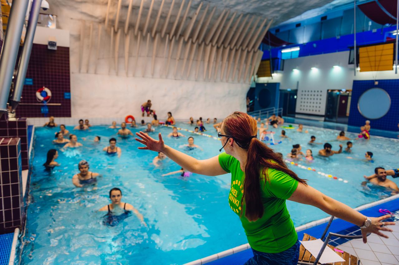 Linkki tapahtumaan Itiksen uimahallissa erikoistalvilomaohjelmaa