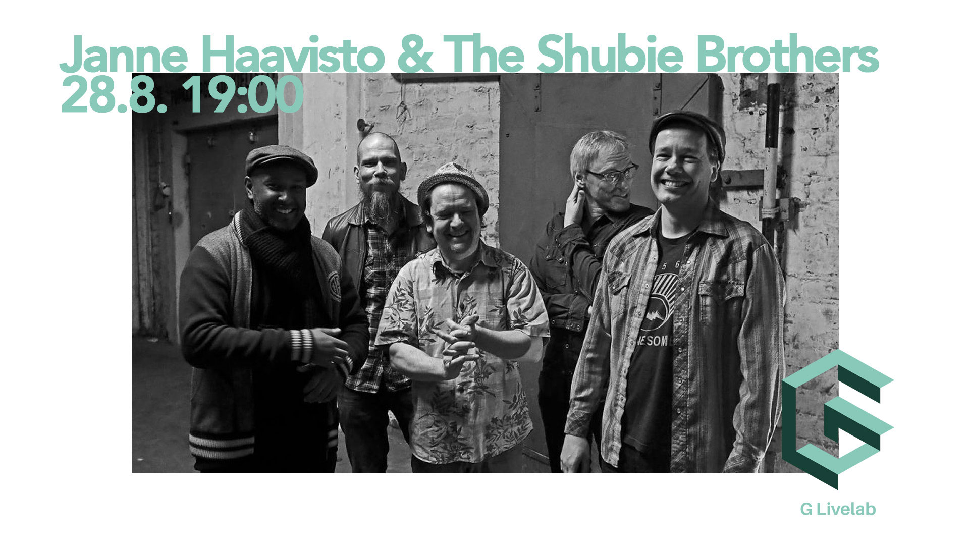 Link to event Janne Haavisto & The Shubie Brothers