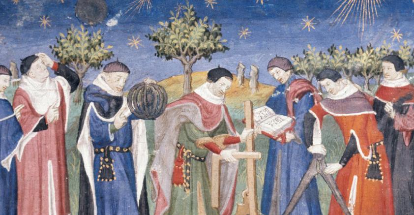 Linkki tapahtumaan Keskiajan kulttuurihistoriaa