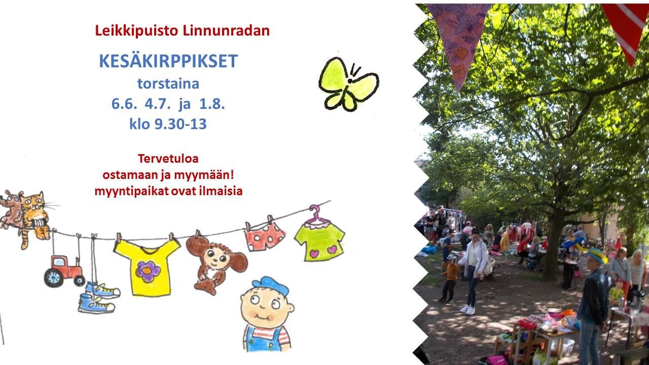Linkki tapahtumaan Puisto Kirppis