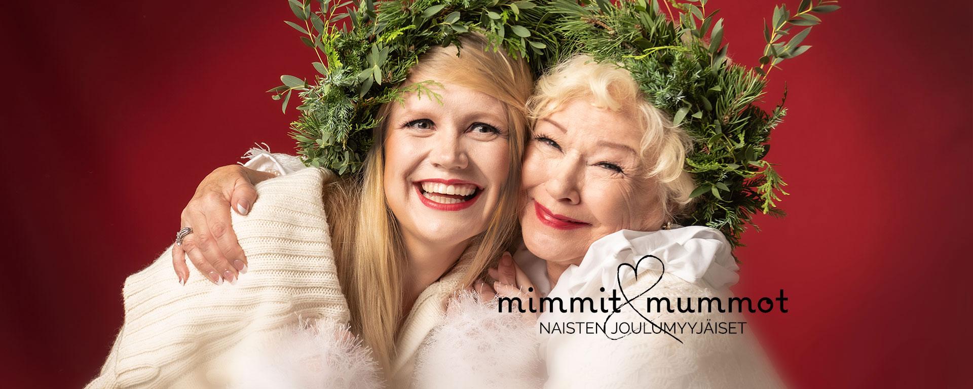 Länken till evenemang Mimmit&Mummot -julmarknad 2019