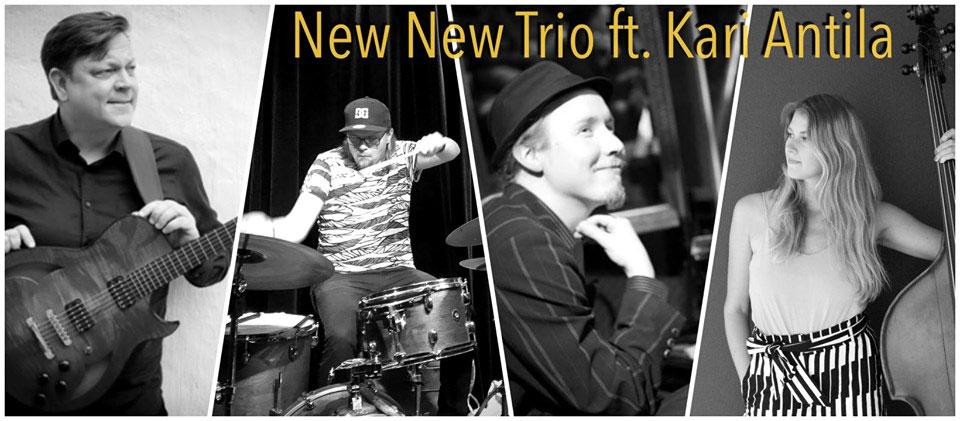 Link to event SunJazz: New New Trio feat. Kari Antila