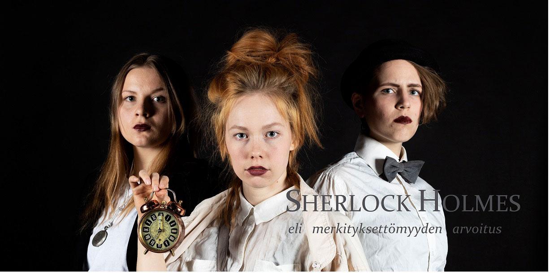 Linkki tapahtumaan Sherlock Holmes eli merkityksettömyyden arvoitus