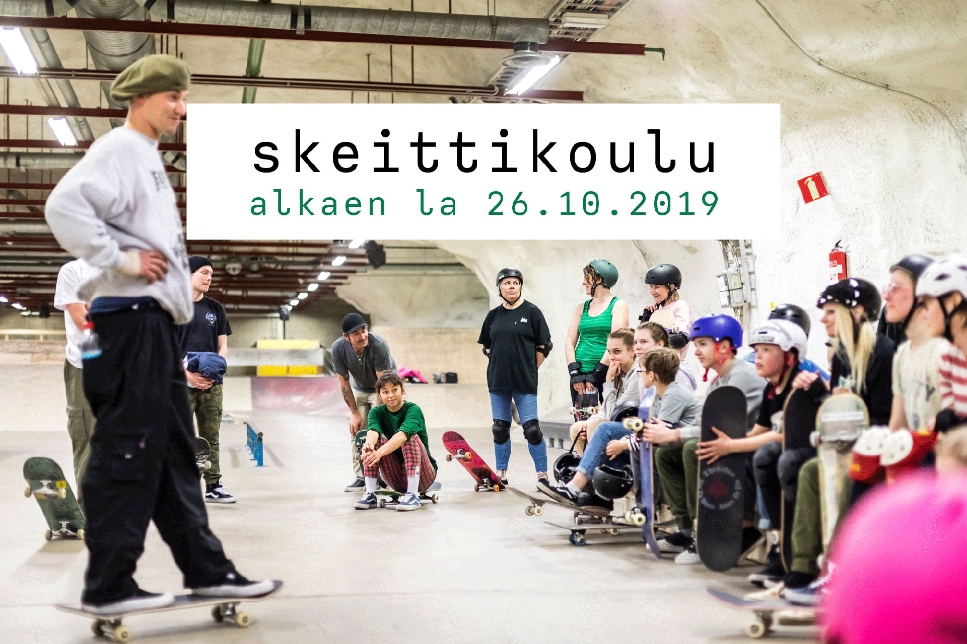 Link to event Skateboard School