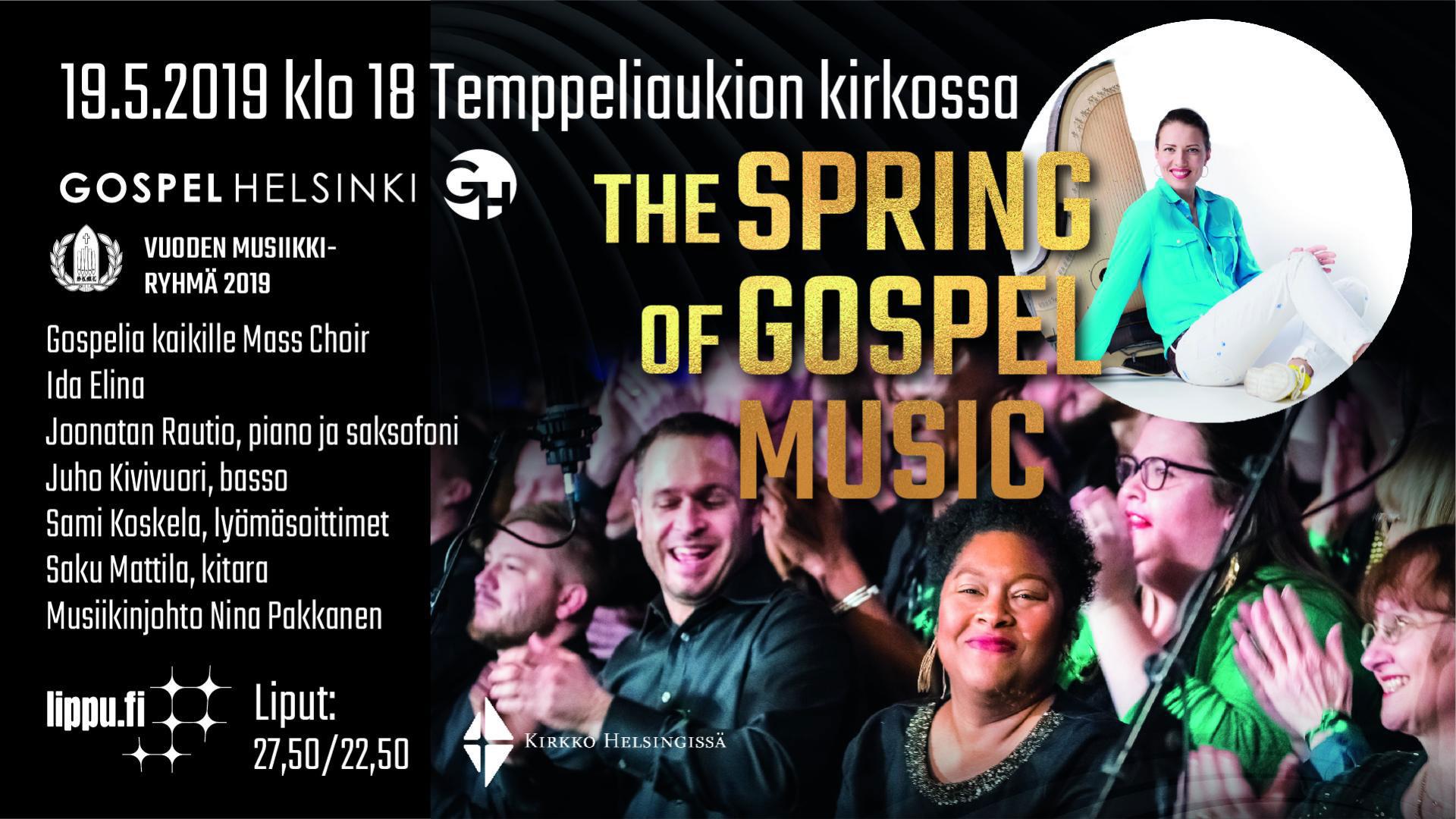 Linkki tapahtumaan The Spring of Gospel Music