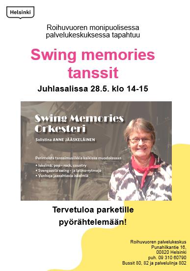 Linkki tapahtumaan Tanssit: Swing memories