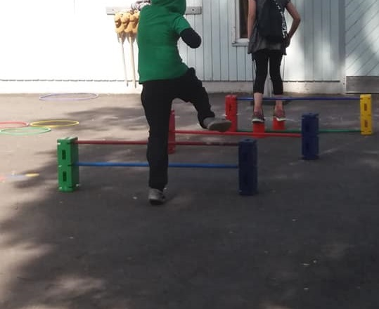 Link to event Obstacle course (outside)