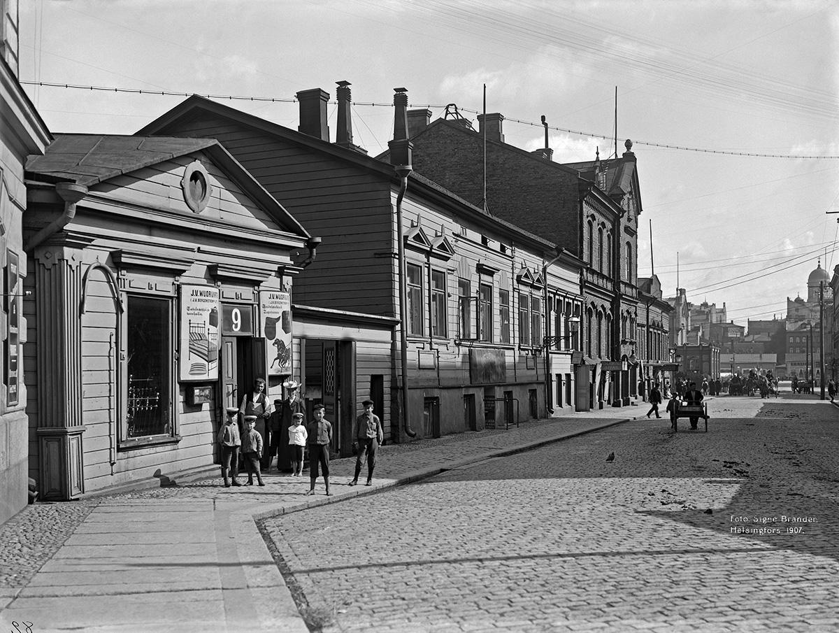Linkki tapahtumaan Retki Helsingin historiaan ja tämän päivän kaupunkiin