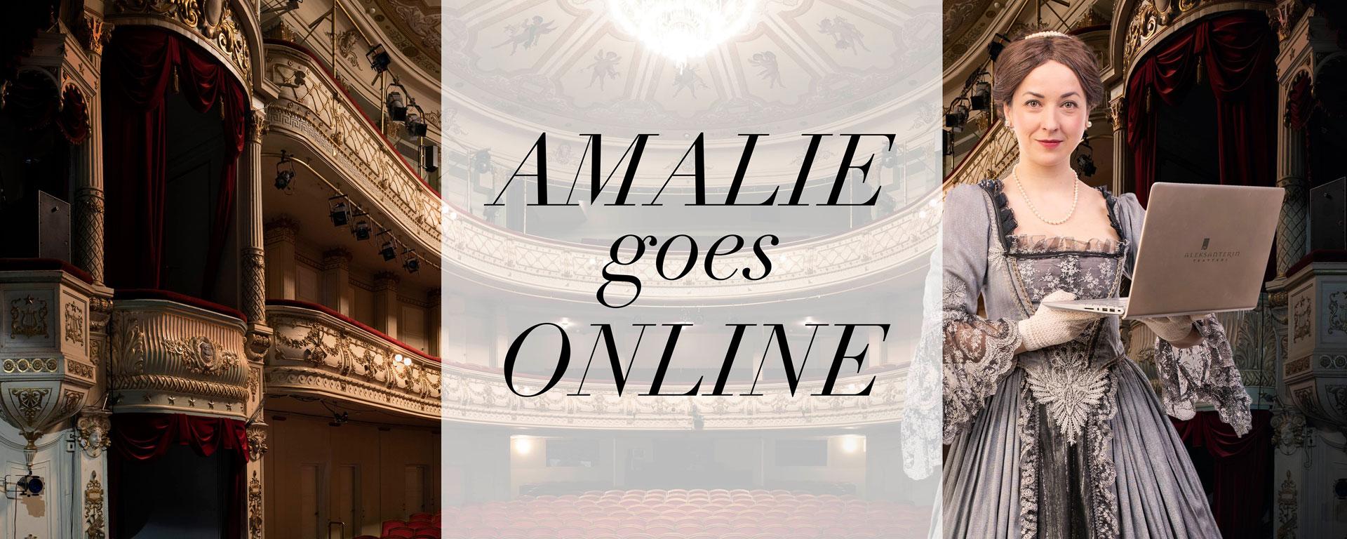 Linkki tapahtumaan Amalie Goes Online