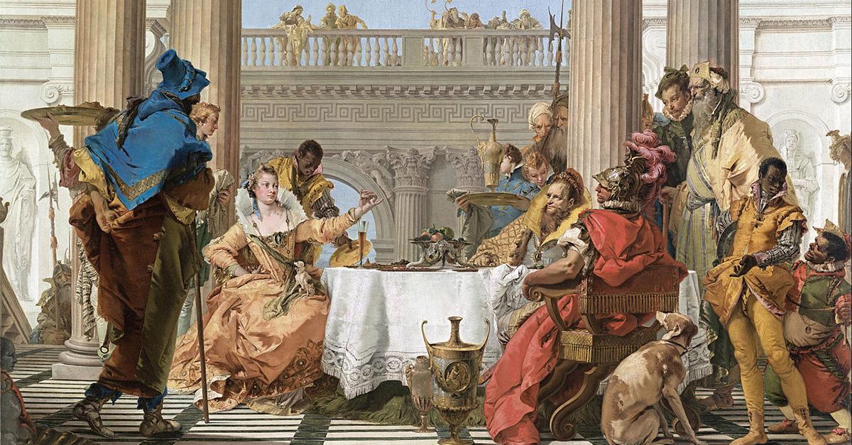 Linkki tapahtumaan Il barocco Caravaggiosta Tiepoloon – italialaista taidetta