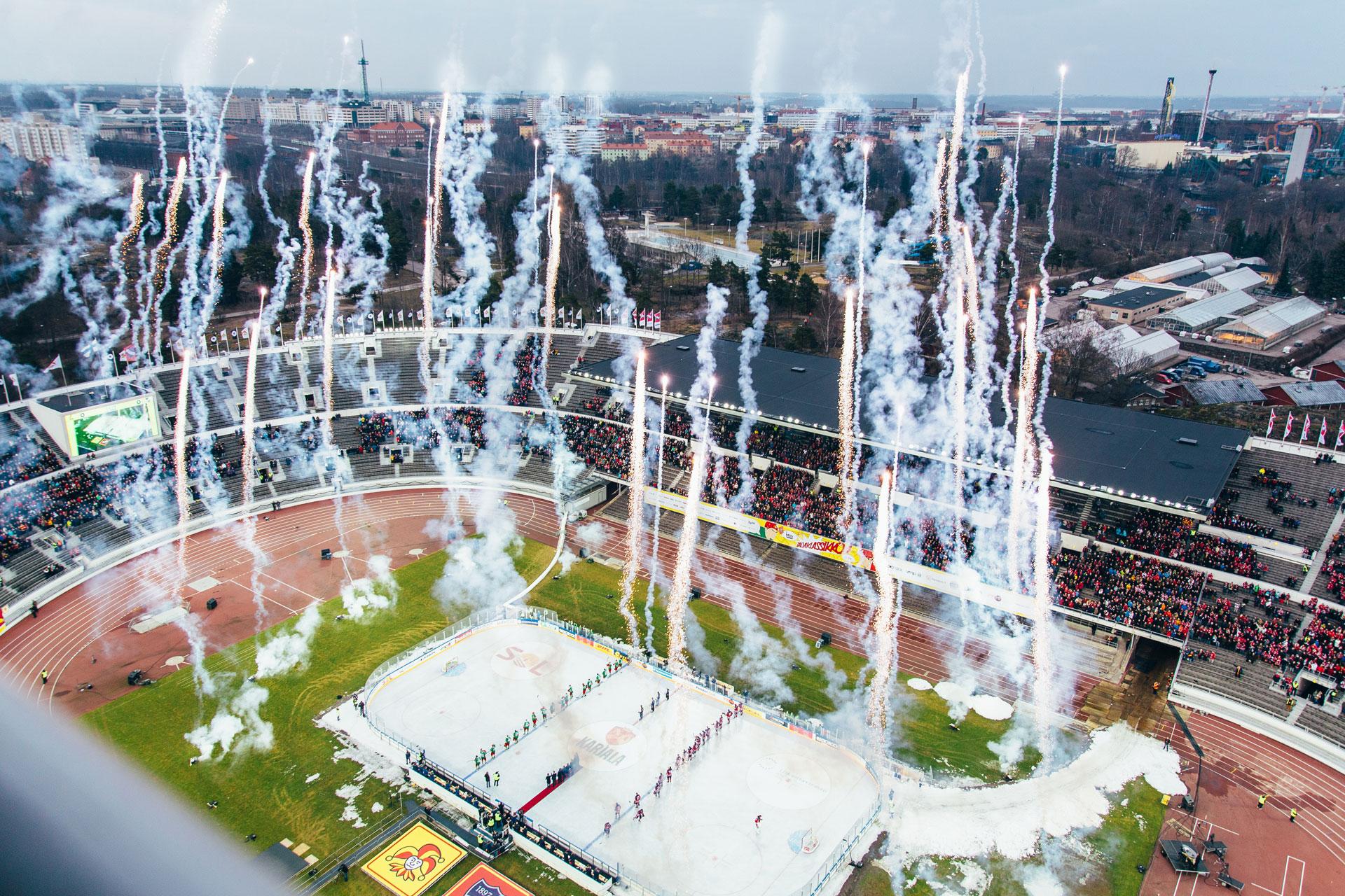 Linkki tapahtumaan Suomen urheilun Hall of Fame
