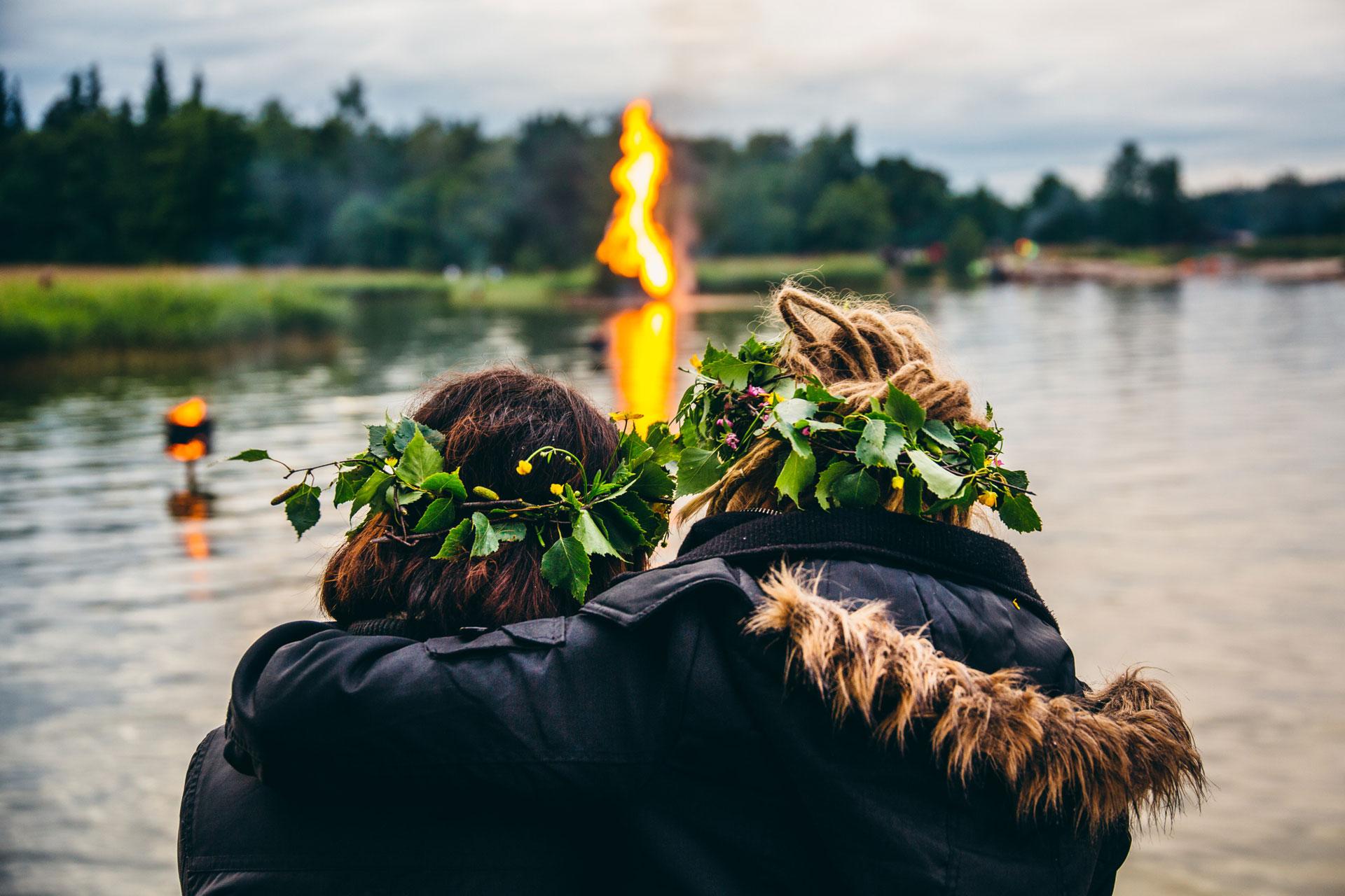 Link to event Seurasaari Midsummer Bonfires 2021