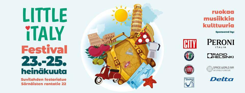 Linkki tapahtumaan Little Italy Festival 2021