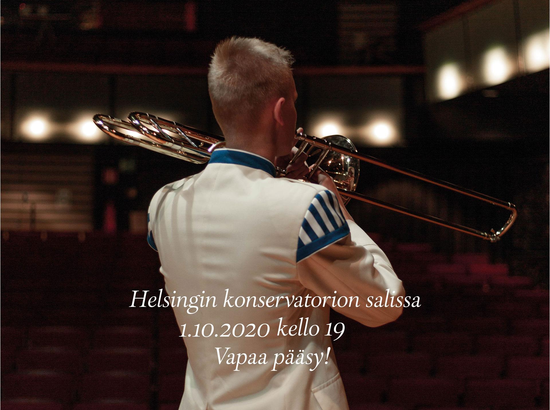 Linkki tapahtumaan Kaartin soittokunnan kamarimusiikkikonsertti