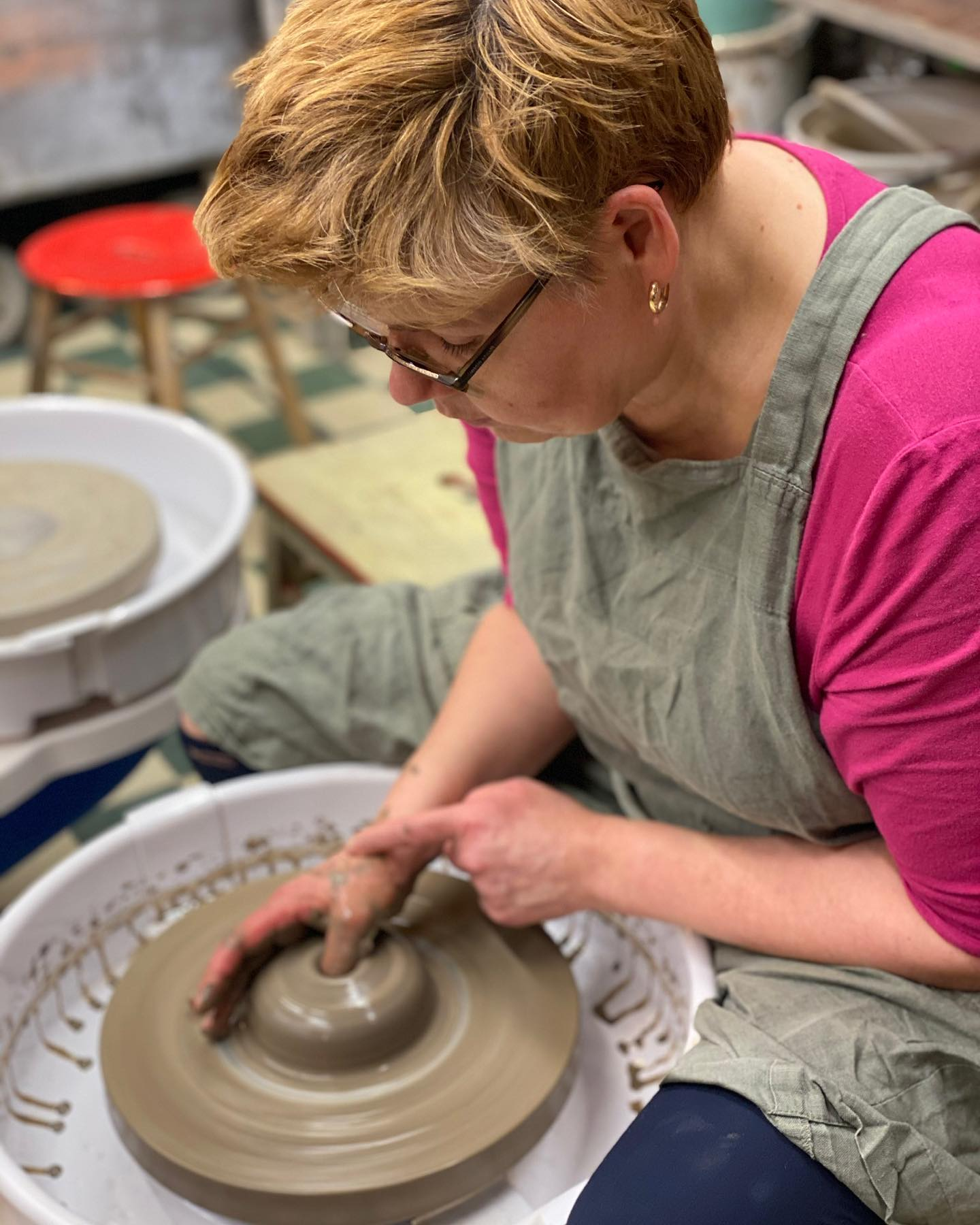 Link to event Open studio, two day pottery course