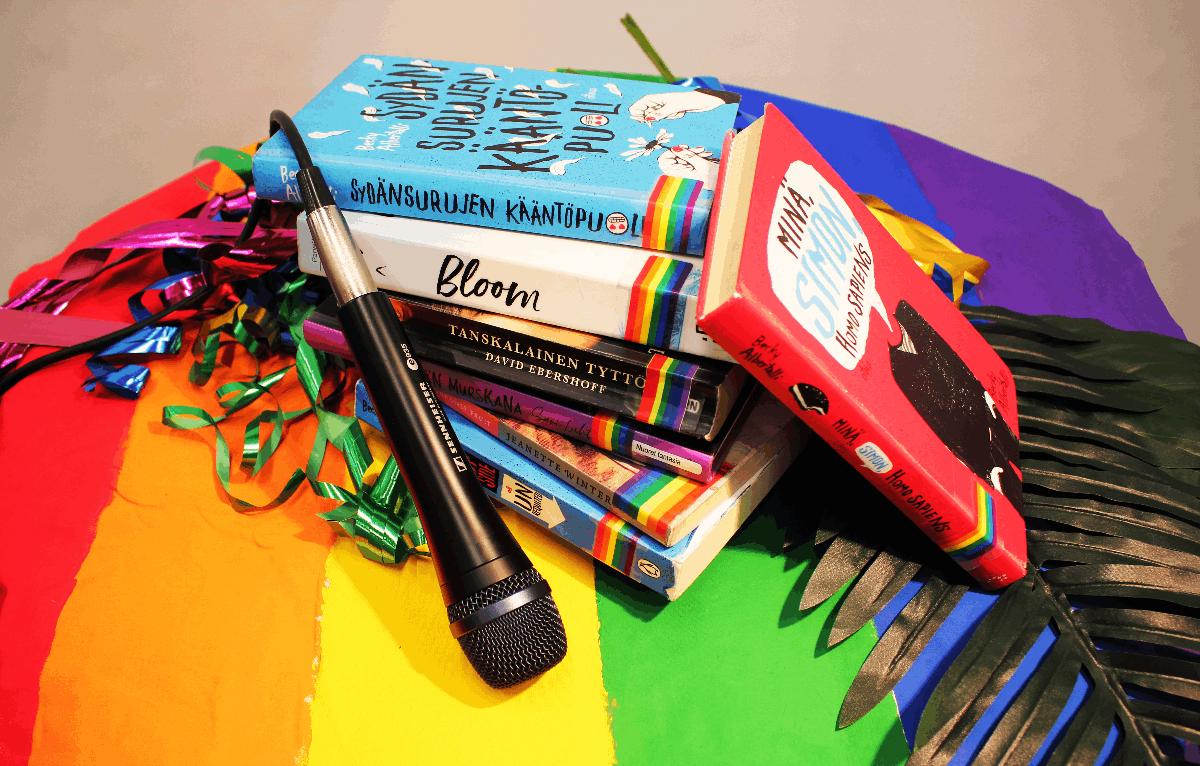 Linkki tapahtumaan Nuorten Pride: Maunulan sateenkaarikeidas – Spekulatiivisen fiktion työpaja ja Rap & lyriikka -työpaja