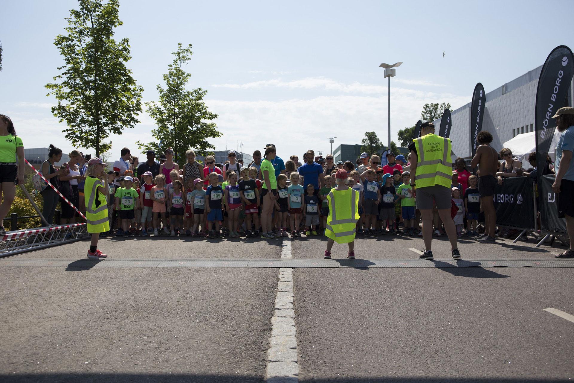 Linkki tapahtumaan Kids Run Helsinki HHM 2020
