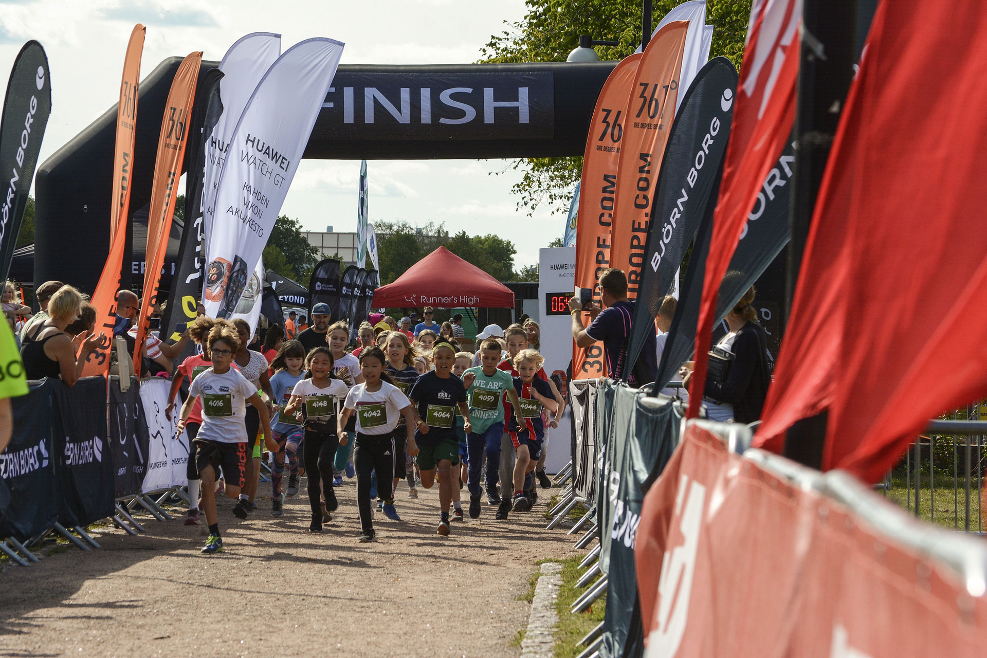 Link to event Kids Run Helsinki Park 2020