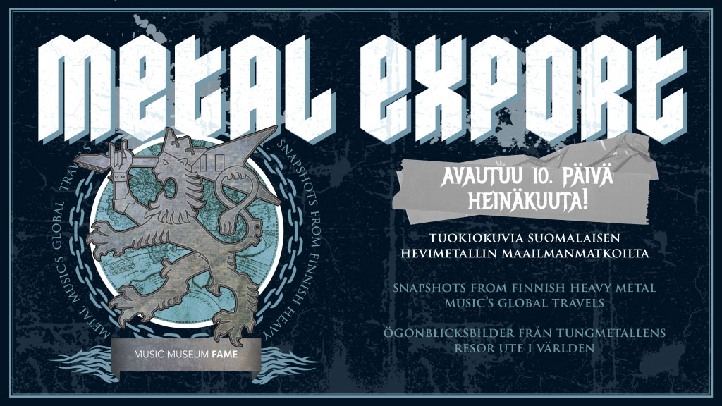 Link to event Metal Export