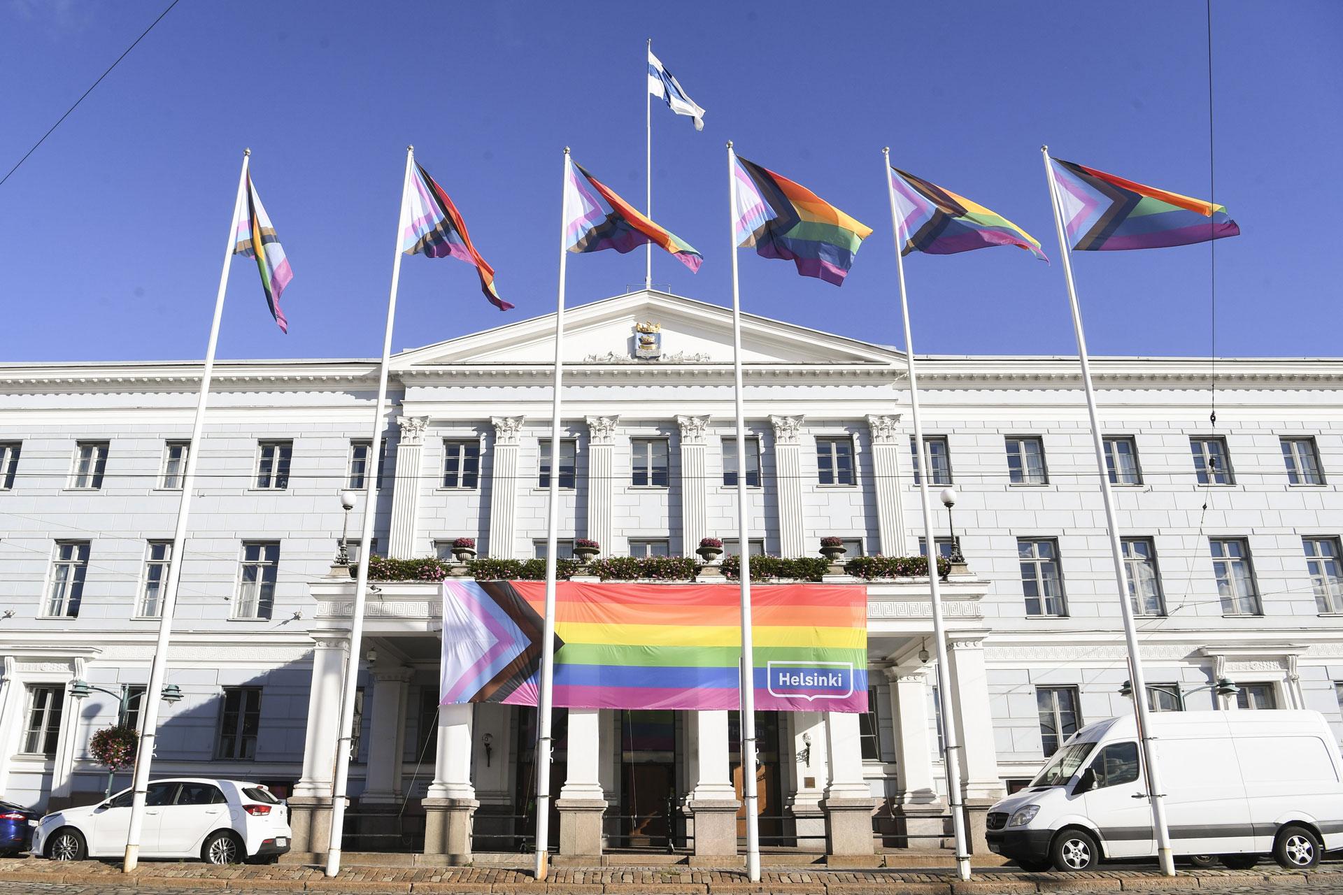 Linkki tapahtumaan Helsinki Pride 2021