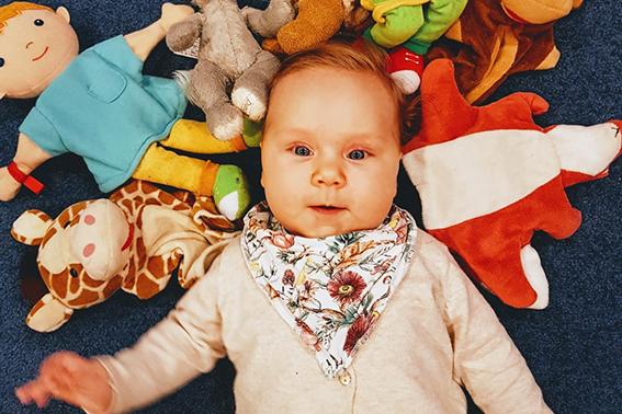 Linkki tapahtumaan Etävauvaperhetoiminta - vauvan vuorokausirytmi (Munkkivuori)
