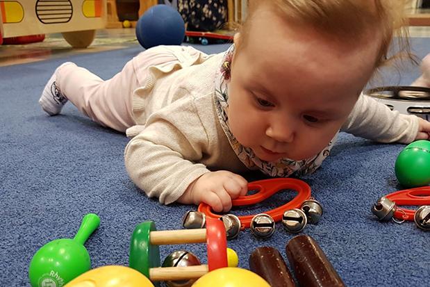 Linkki tapahtumaan Vauva- ja taaperotreffit