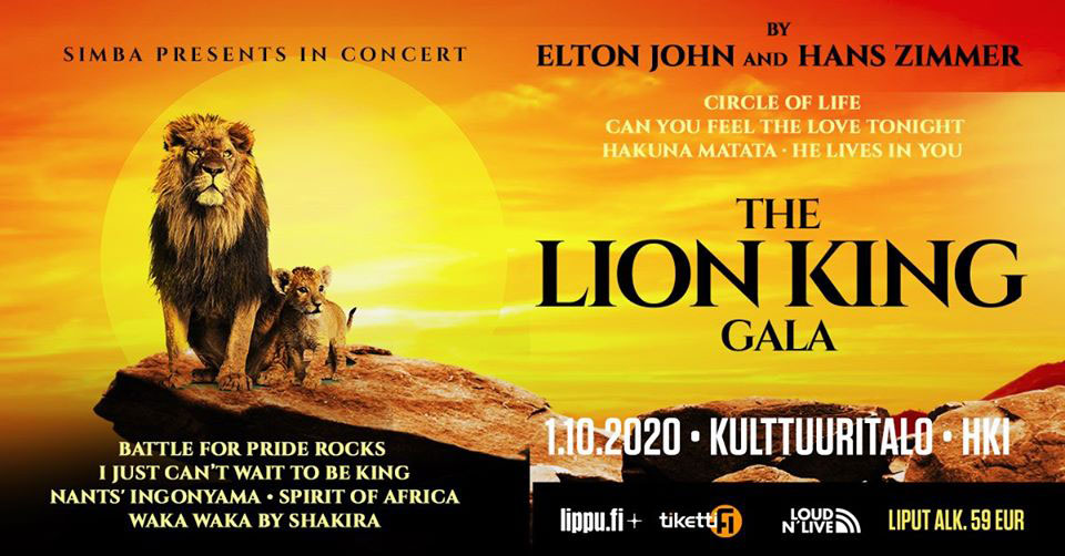 Link to event The Lion King Gala