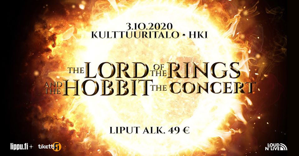 Linkki tapahtumaan The Lord of the Rings and The Hobbit
