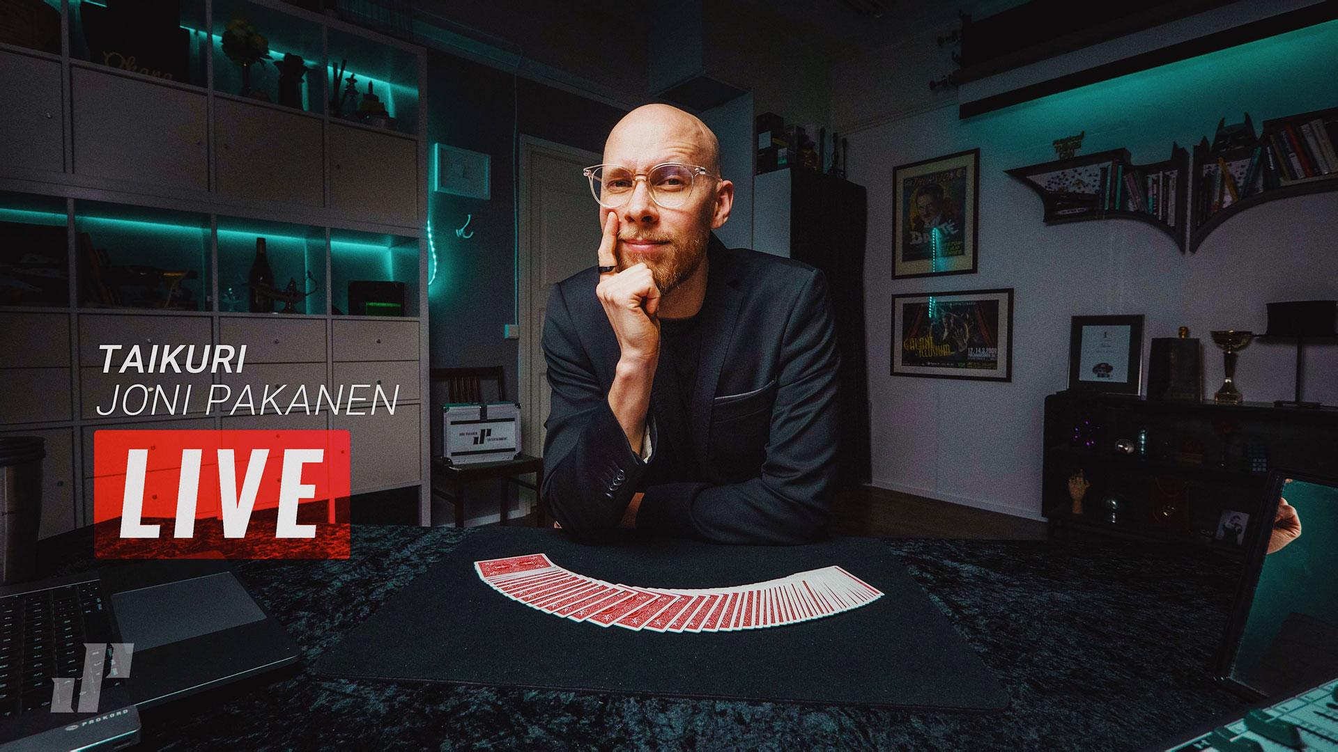 Link to event Magic Studio: Joni Pakanen