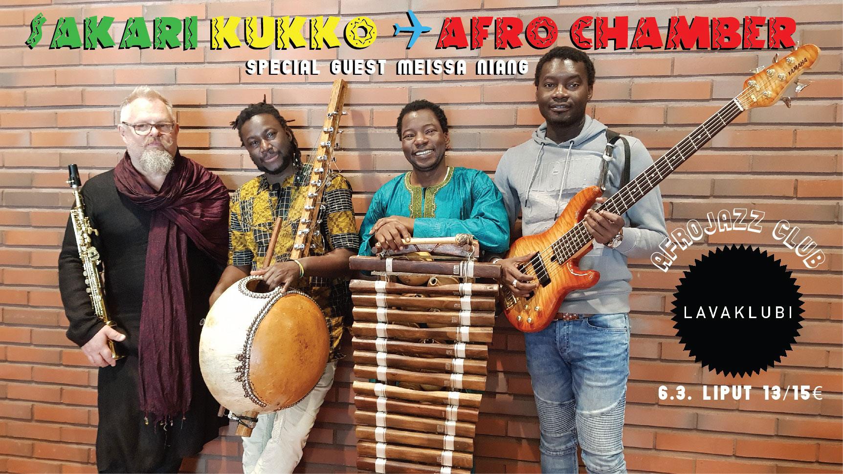 Link to event Afrojazz Club: Sakari Kukko - Afro Chamber