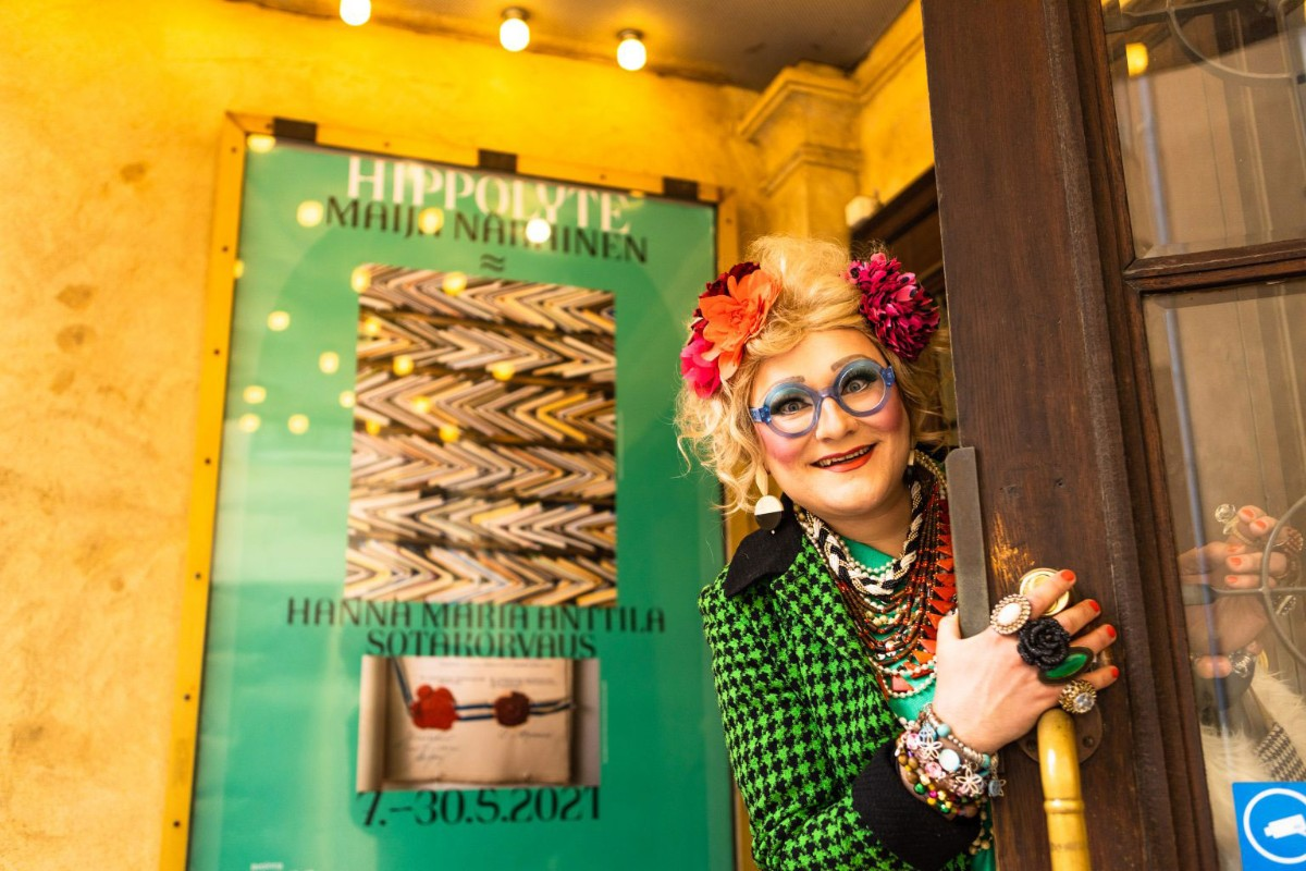Linkki tapahtumaan Art Fair Suomi Goes Galleries 2021