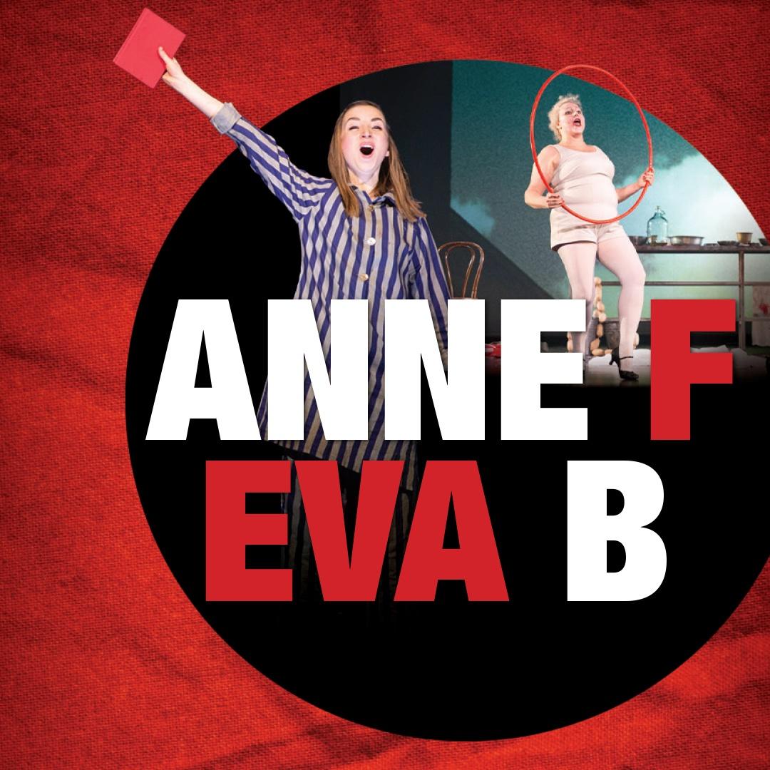 Linkki tapahtumaan Anne Frank & Eva Braun - kahden monologioopperan yhteisilta