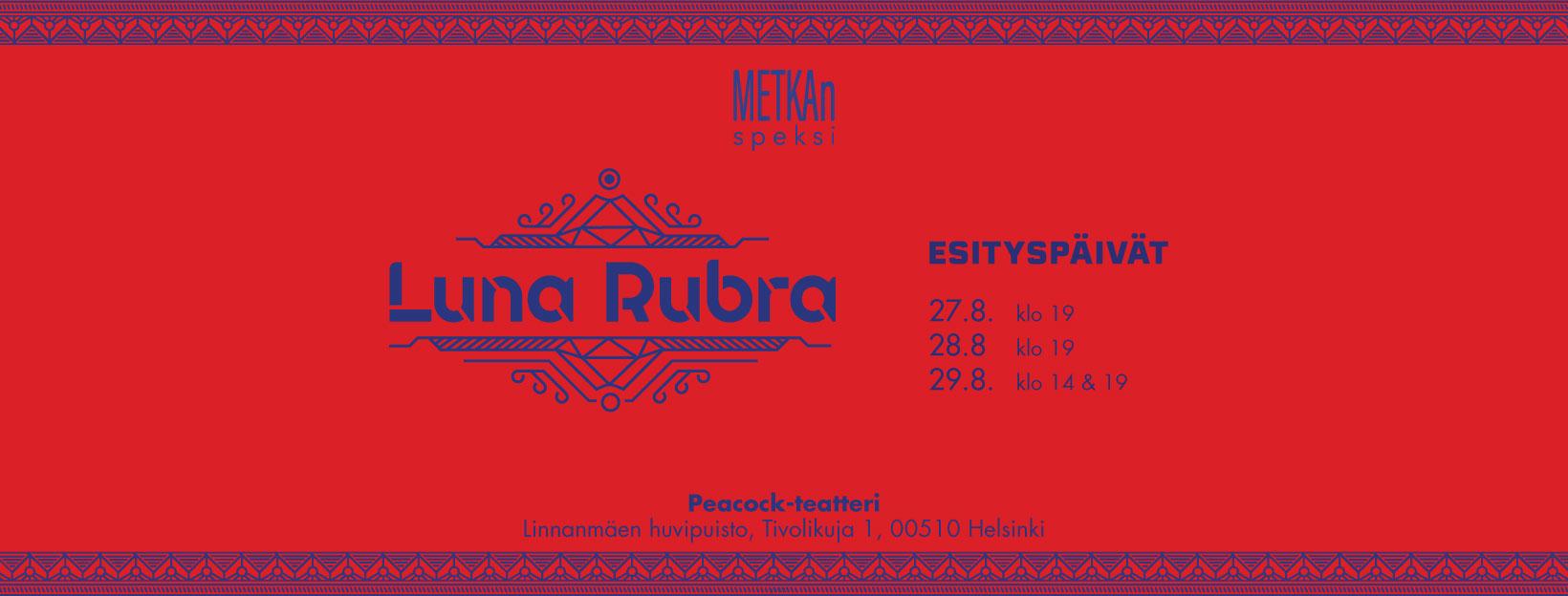 Linkki tapahtumaan METKAn Speksi 2020: Luna Rubra