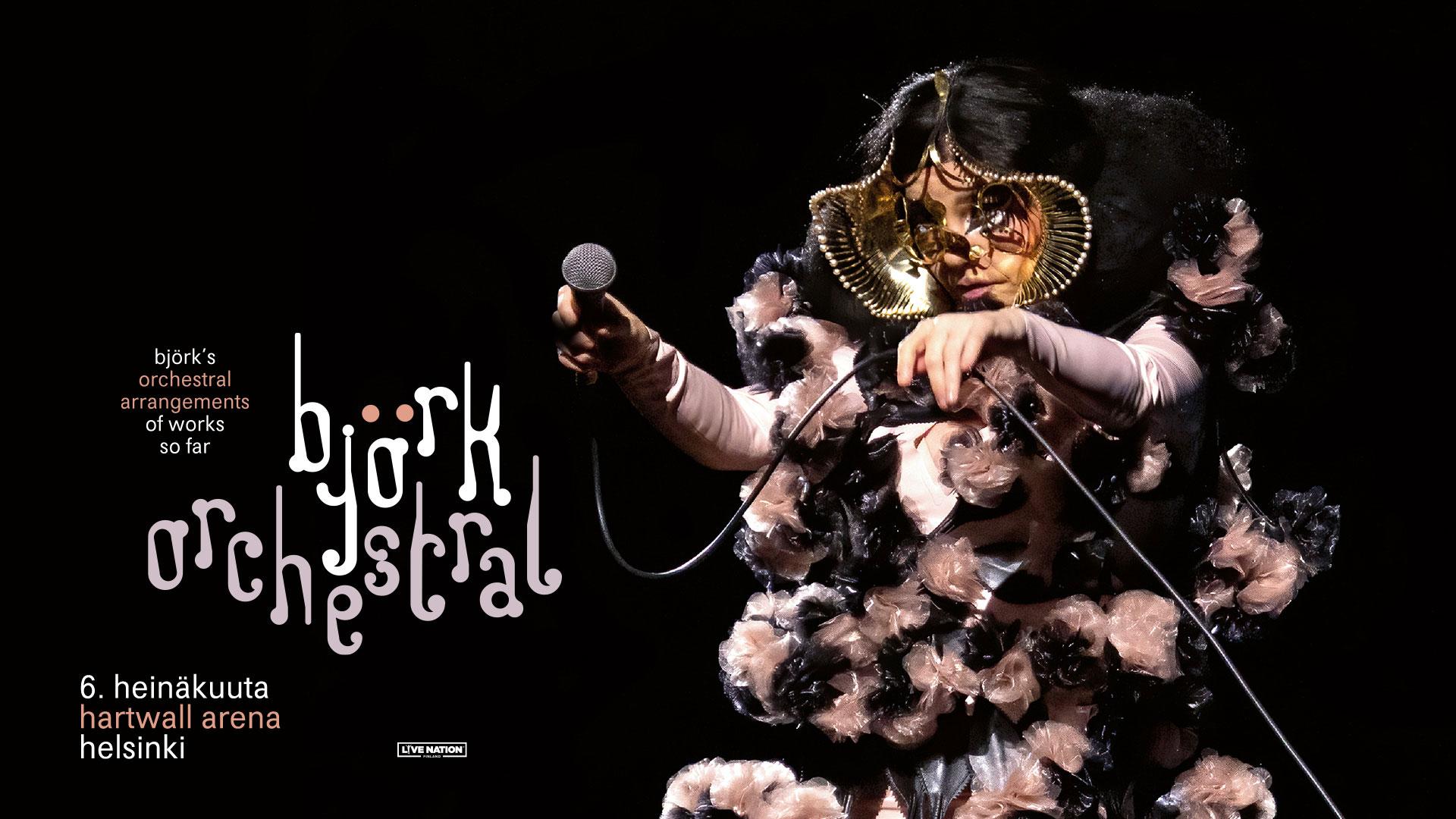 Länken till evenemang Björk