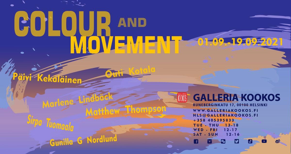 Linkki tapahtumaan Colour and Movement