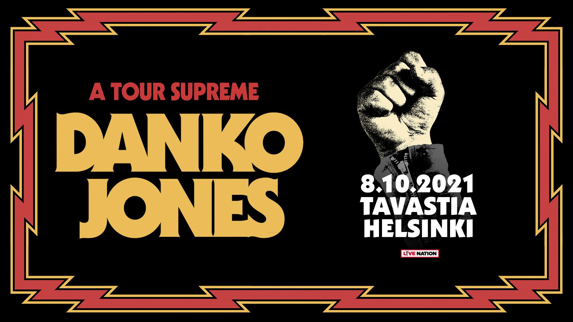 Linkki tapahtumaan Danko Jones: A Tour Supreme