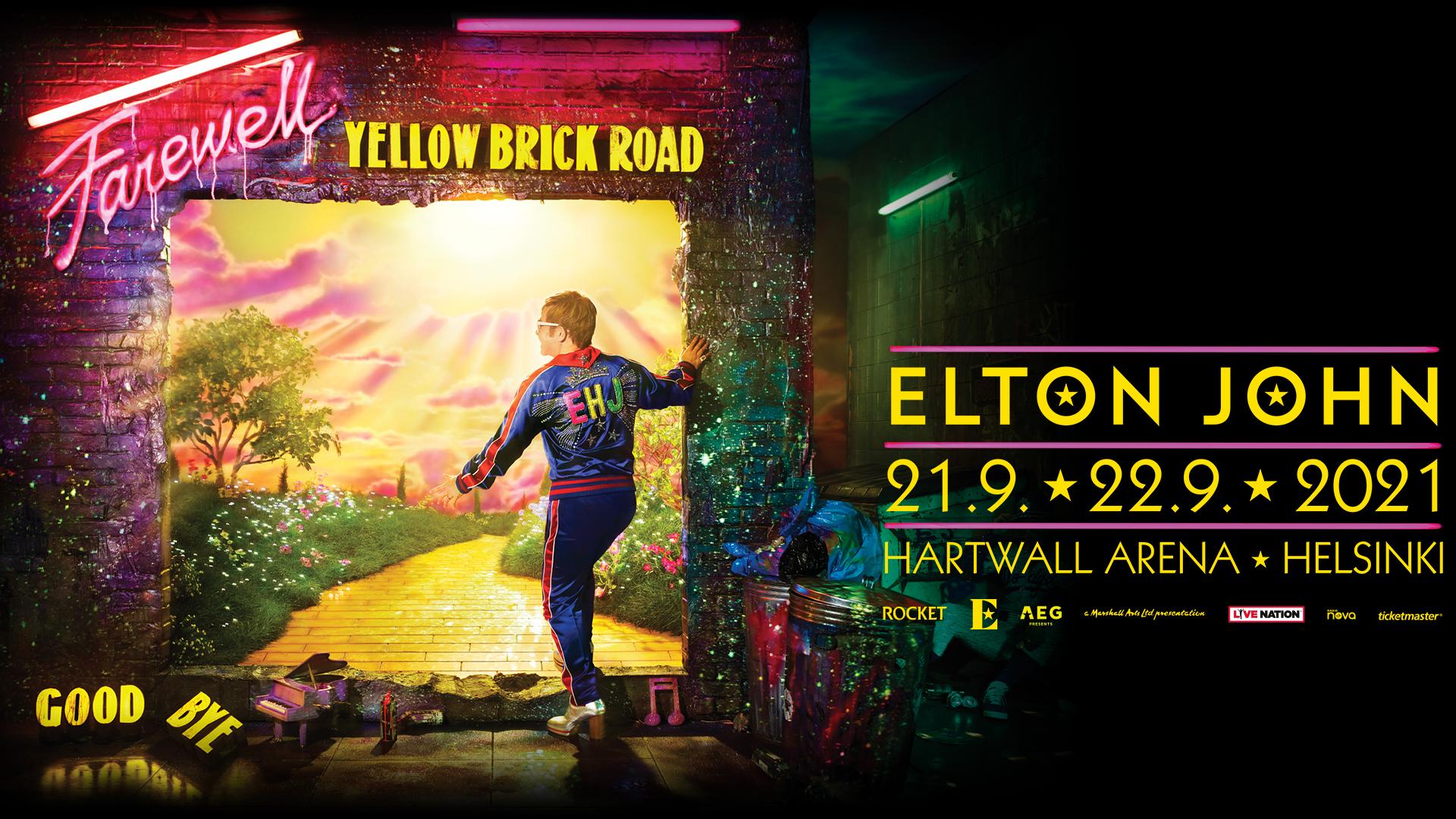 Linkki tapahtumaan Elton John