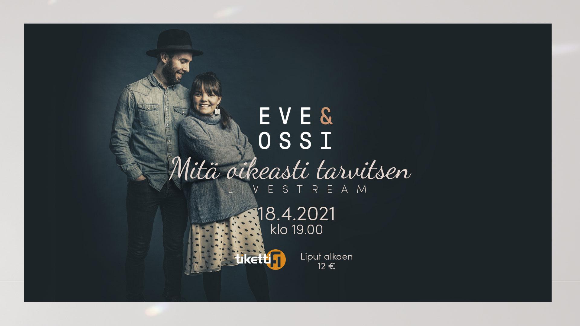 Linkki tapahtumaan Eve & Ossi