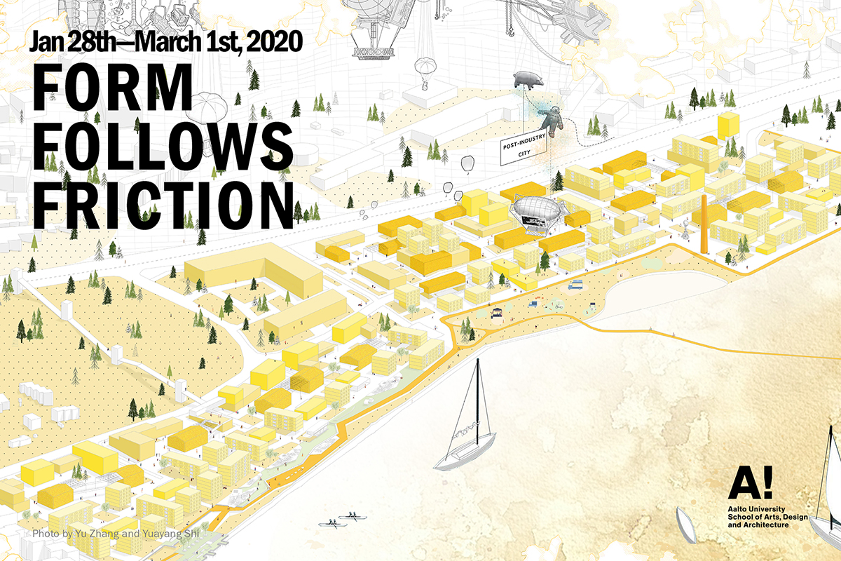 Link to event Form Follows Friction  —  Visions for Future Viikinranta by Aalto University's architecture students