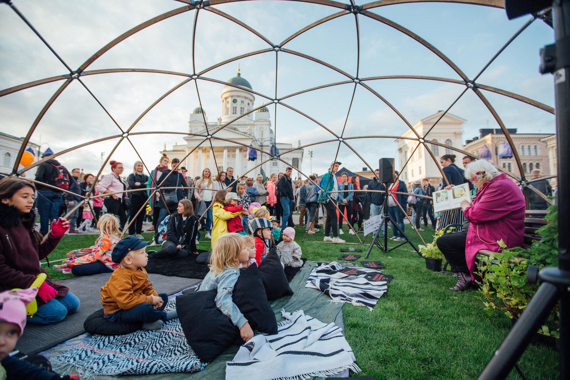 Linkki tapahtumaan Helsingin juhlaviikot 2021