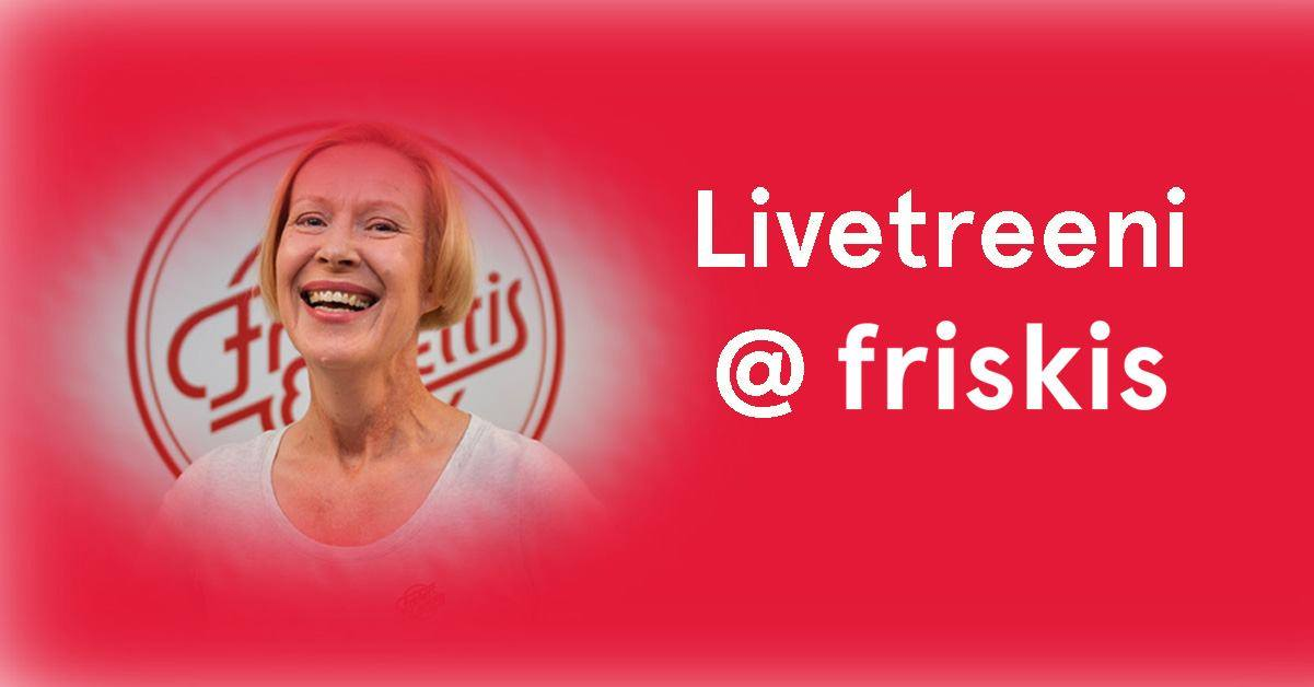 Link to event Friskis' Online Workout: Tanssi fuego