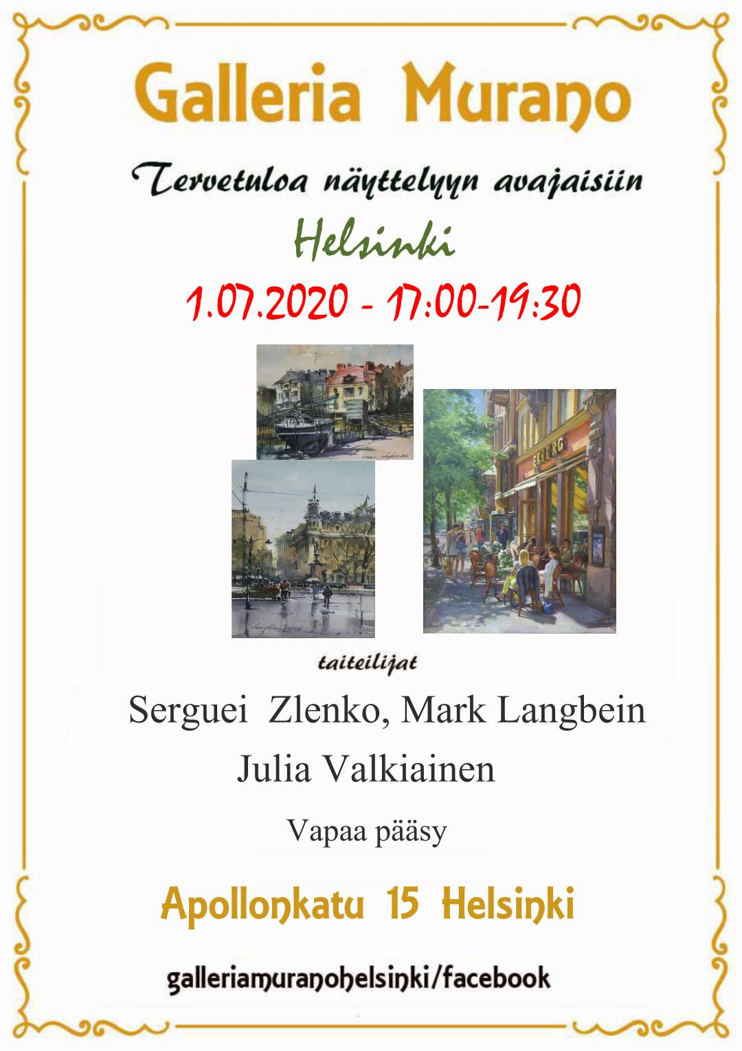 """Link to event Exhibition """"Helsinki"""""""