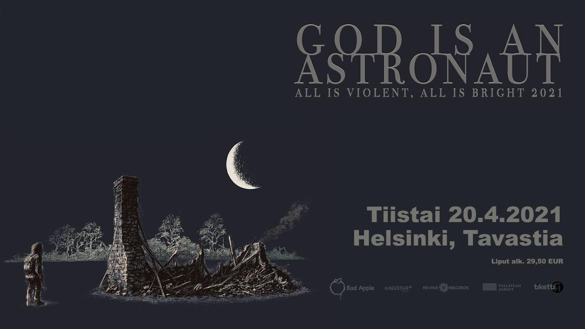 Linkki tapahtumaan God Is An Astronaut