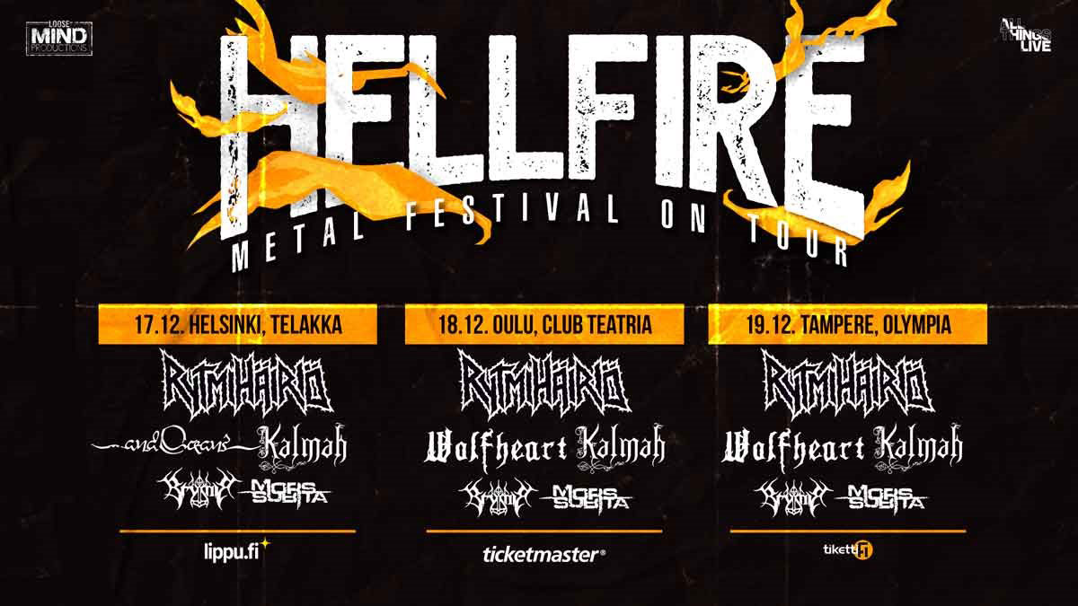 Link to event Hellfire 2021 – Metal Festival On Tour