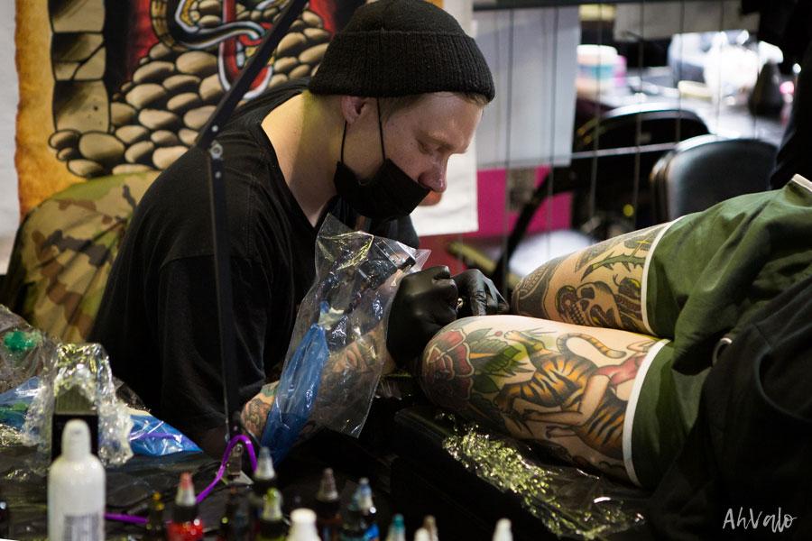 Linkki tapahtumaan Helsinki Ink -tatuointimessut 2020