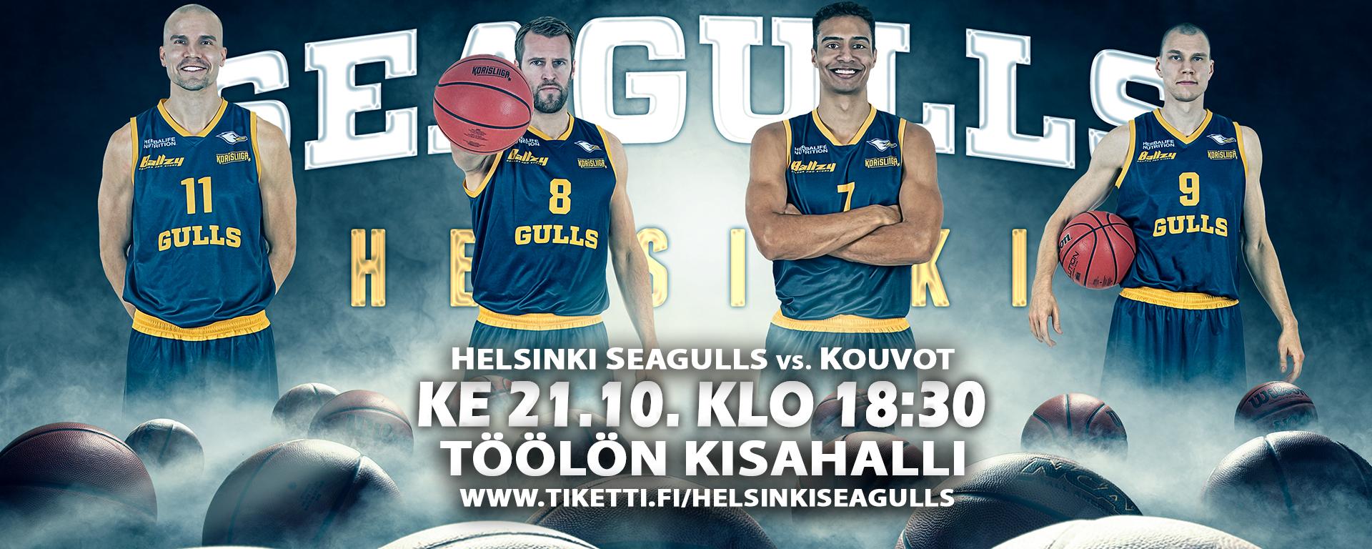 Link to event Helsinki Seagulls vs. Kouvot