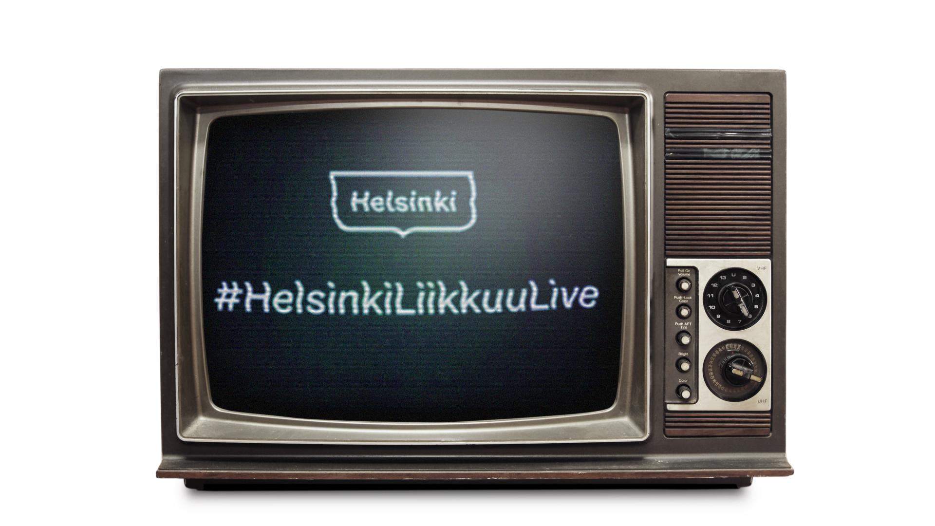 Linkki tapahtumaan #HelsinkiLiikkuuLive
